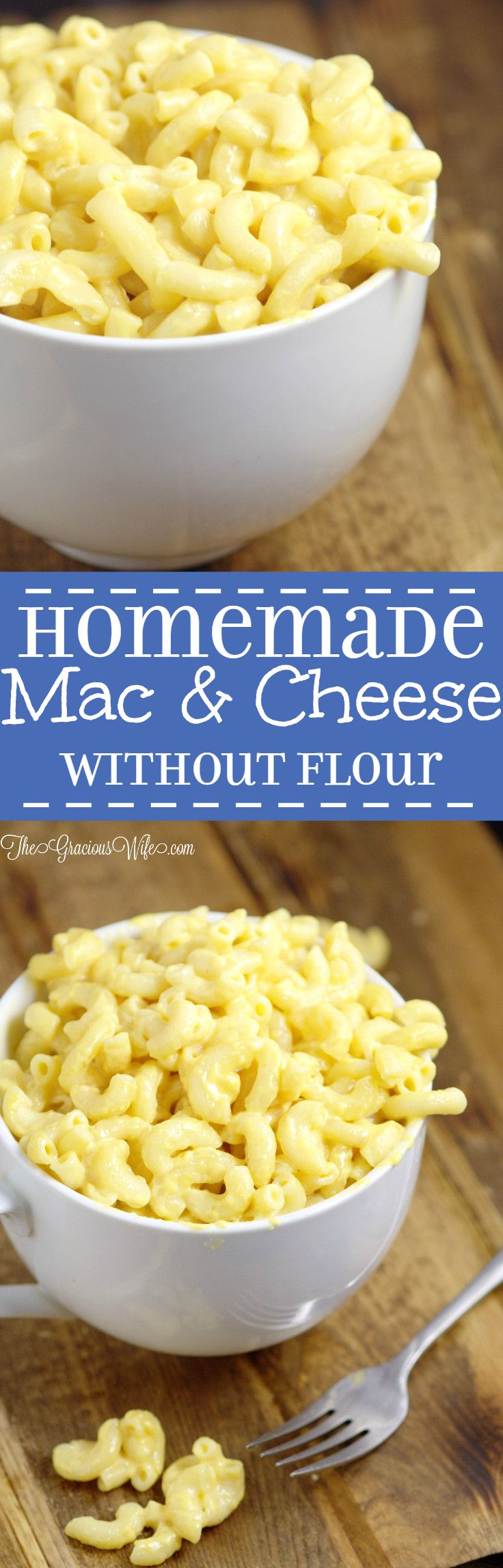 mac n cheese recipe without butter