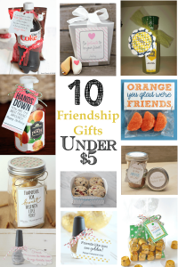 10 gifts under $5. For birthdays, Christmas, or just because. Includes free printables! -TheGraciousWife.com