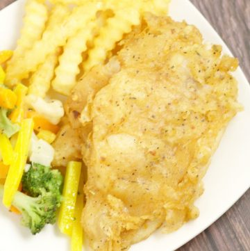 Beer Battered Catfish Fry Recipe - an easy and delicious family dinner recipe idea. Catfish is covered in a flavorful, zesty, and slightly spicy beer batter, then deep fried to golden perfection.