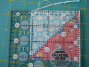 How to Make a Quilt for Beginners: Part 2 in a series. A tutorial and tip guide for washing & cutting quilt blocks. From TheGraciousWife.com