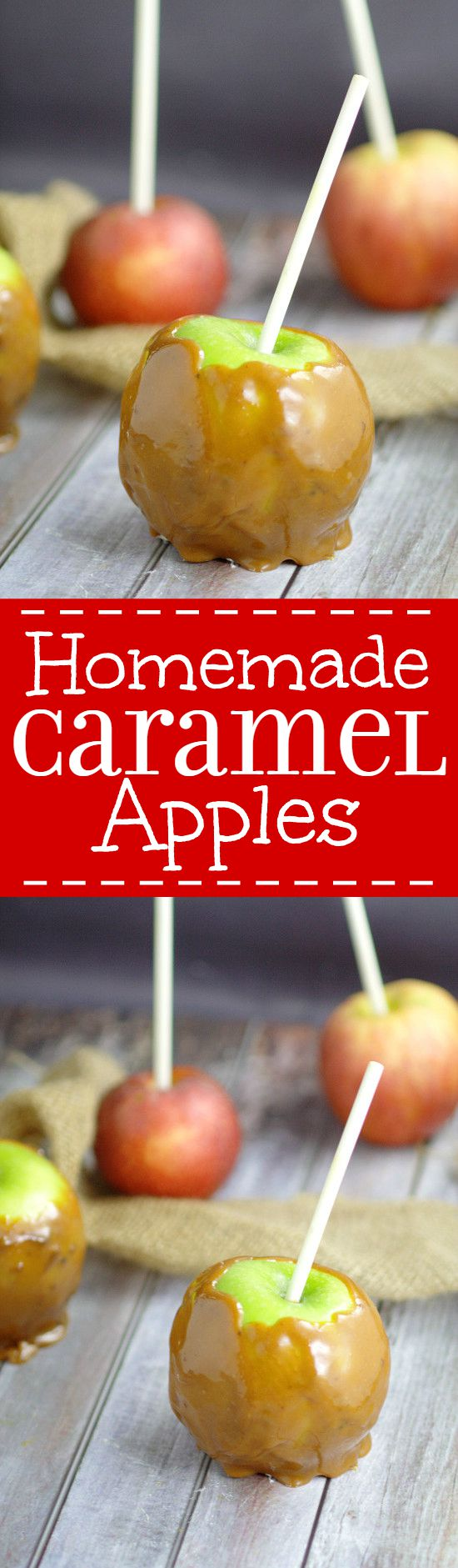 Homemade Taffy Apples | Best Caramel Apples Recipe