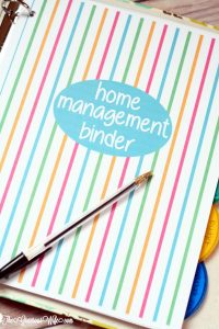 photograph about Life Binder Printables referred to as House Control Binder - No cost Printables The Gracious Spouse