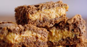 Fudgy Caramel Brownies recipe- caramel swirled with a chocolate-y fudgy brownie. #dessert #caramel #chocolate #brownies From TheGraciousWife.com