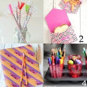 24 Diy Back To School Supplies The Gracious Wife