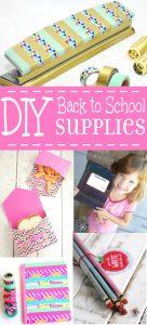 24 DIY Back to School Supplies
