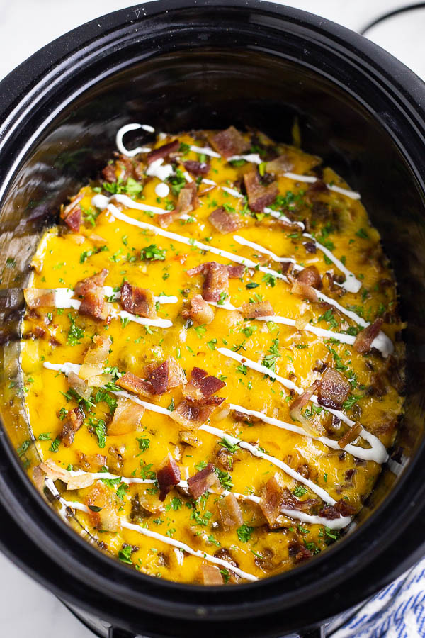 Crockpot Breakfast Casserole The Gracious Wife