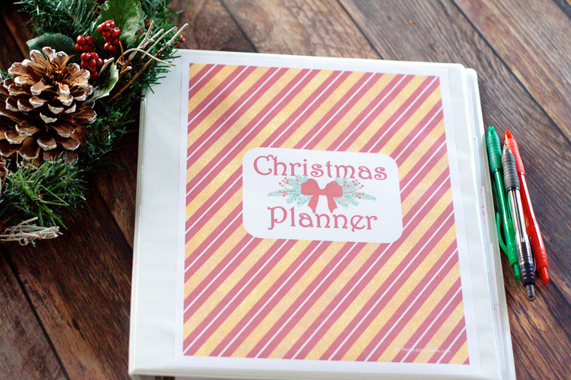 photo relating to Free Printable Christmas Planner named Printable Xmas Planner The Gracious Spouse