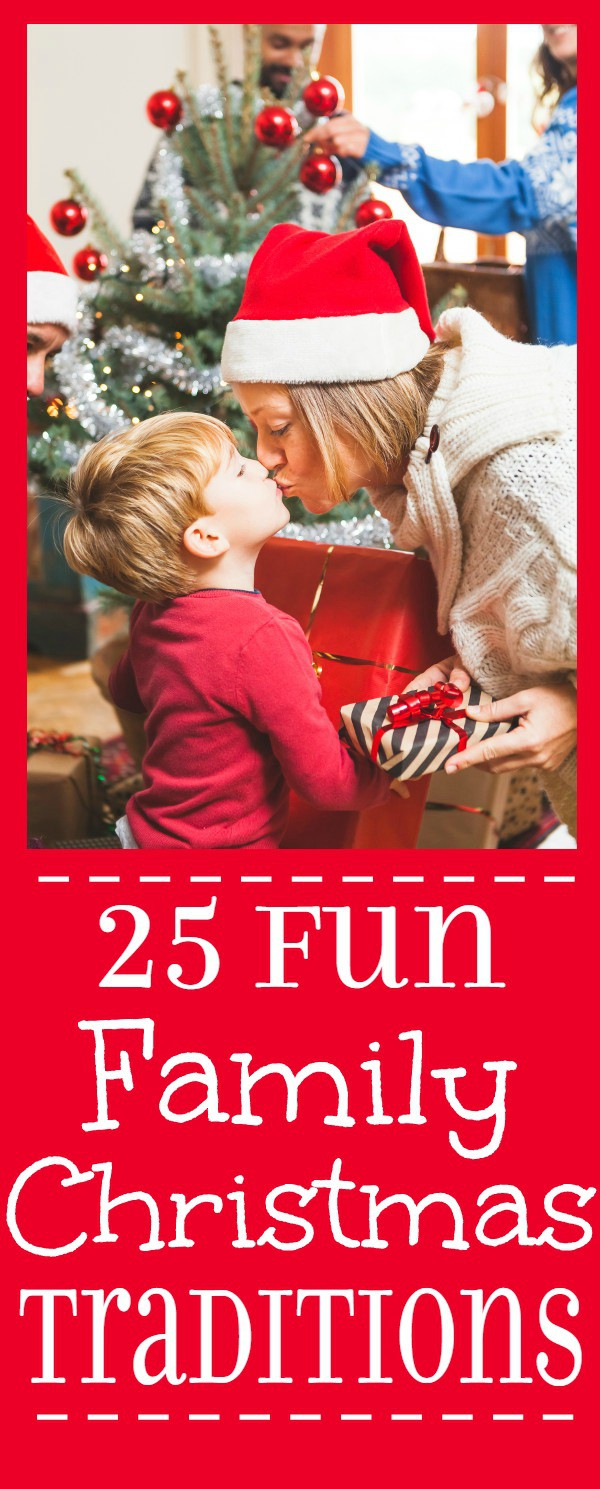 Fun Family Christmas Traditions and Christmas Eve Traditions. Don't get lost in your schedules and to-do lists. Remember to make magical Christmas memories with your family with these Fun Family Christmas Traditions ideas.