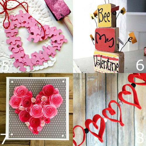 36 Diy Valentine S Day Decorations Ideas Pretty Hearts And Roses Pinks Reds