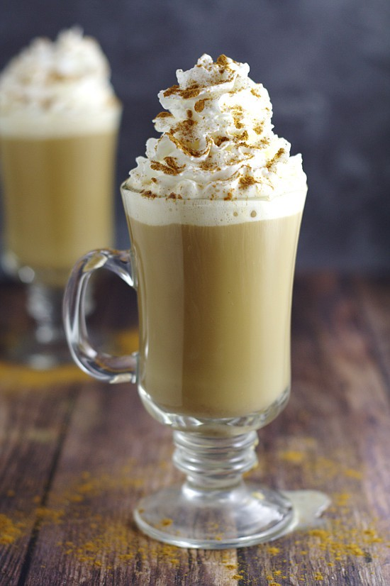 Homemade Cinnamon Dolce Coffee Creamer recipe is a sinful and decadent combination of caramel, cream