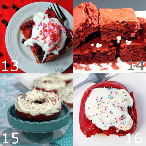 Red Velvet Dessert recipes are the ultimate choice for Valentine's Day food. These 40 decadent Red Velvet Dessert recipes are perfect for Valentine's Day. Indulge your craving with the rich, classic flavor of red velvet. Heaven!