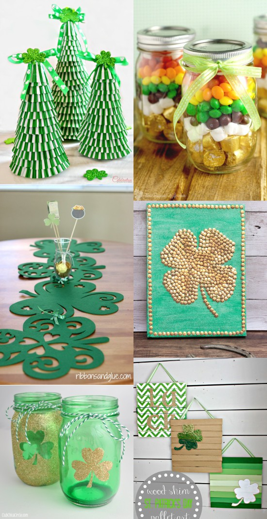 28 diy st patrick 39 s day decorations the gracious wife. Black Bedroom Furniture Sets. Home Design Ideas