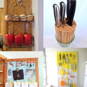 24 DIY Kitchen Organization Ideas