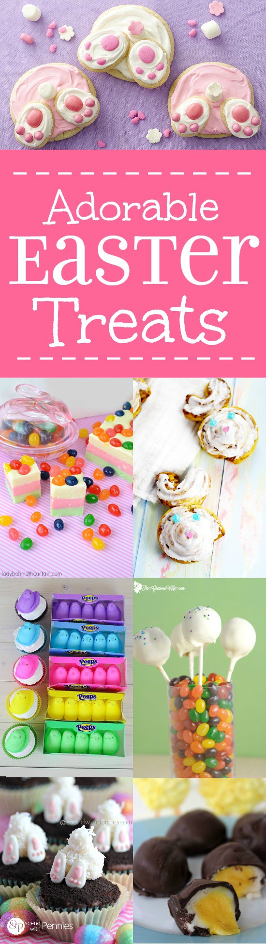 Adorable Easter Treats ideas with bunnies, bird nests, carrots, creme eggs, and more are sure to make your kids happy and your Easter celebration special. Aww these are so cute! Can't wait to make some!Adorable Easter Treats ideas with bunnies, bird nests, carrots, creme eggs, and more are sure to make your kids happy and your Easter celebration special. Aww these are so cute! Can't wait to make some!