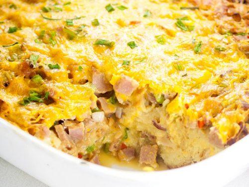 Denver Omelet Casserole