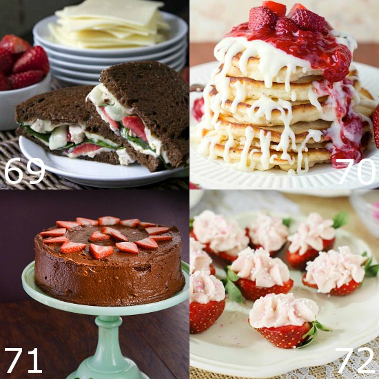 112 Fresh Strawberry Recipes - Enjoy fresh, juicy strawberries with these delicious Fresh Strawberry Recipes.  Over 100 recipes to use up your favorite juicy berries, including breakfast, snacks, and dessert.