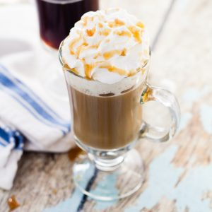 Homemade Salted Caramel Coffee Creamer
