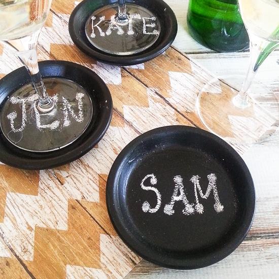 Chalkboard Coasters