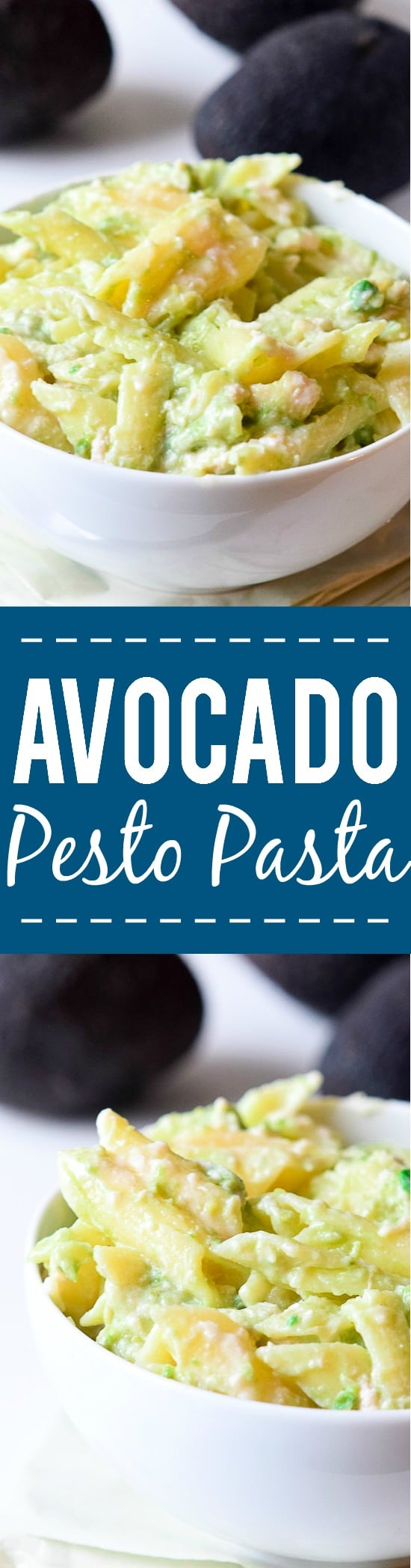 Avocado Pesto Pasta Recipe - Easy and fresh, this Avocado Pesto Pasta is perfect for warm weather, made with fresh basil, tangy lime, creamy avocado and a sprinkle of Parmesan in just 20 minutes!