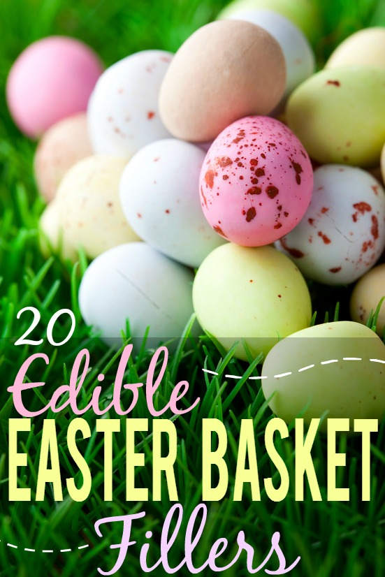 20 edible easter basket fillers the gracious wife 20 edible easter basket fillers ideas for kids fill your easter baskets with a variety negle Gallery