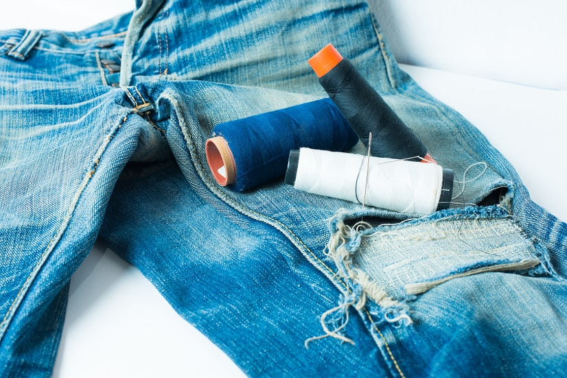 Don't Toss it! Fix it! 7 Simple Fixes for Clothing Damage -Instead of tossing damaged clothes, save money and resources by fixing them! Use these 7 simple fixes for clothing damage to get the most out of all of your clothes!