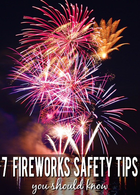 7 Fireworks Safety Tips You Should Know - Have a fun, exciting, and most importantly safe celebration with these 7 important fireworks safety tips you should know.  Summer | Parenting tips