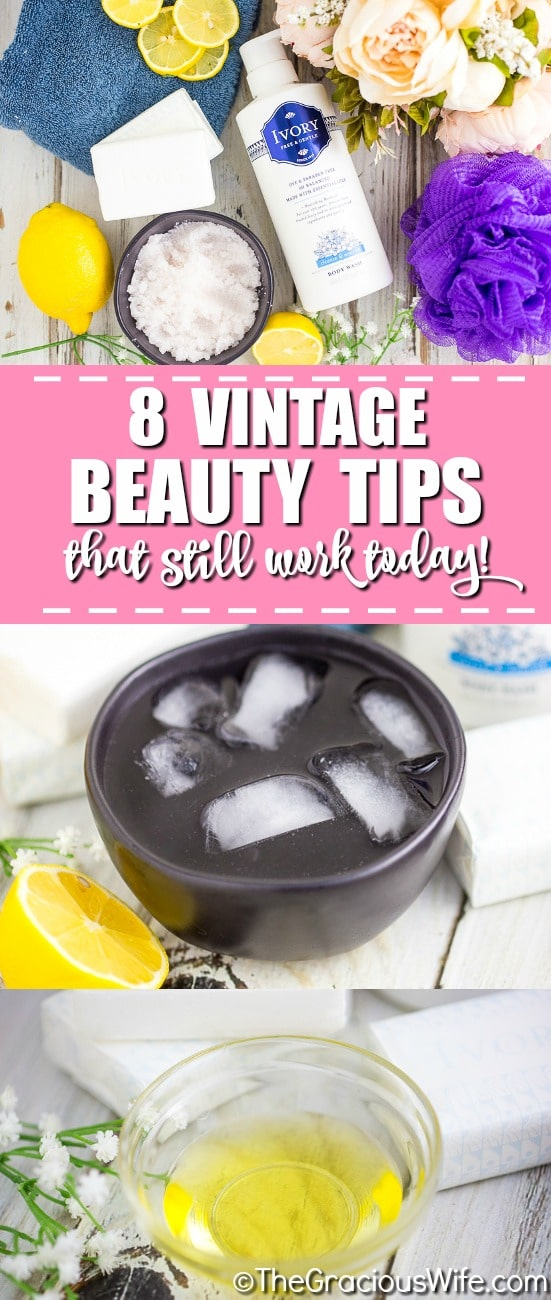Although you might swear by YouTube makeup tutorials that use only the latest, there are so many vintage makeup gems out there that can deliver the same results – if not better! With their glowing skin, tumbling curls and perfect pouts, vintage beauties like Elizabeth Taylor, Marilyn Monroe, and Audrey Hepburn are still the envy of women today!  Here are 8 vintage beauty tips that still work today!