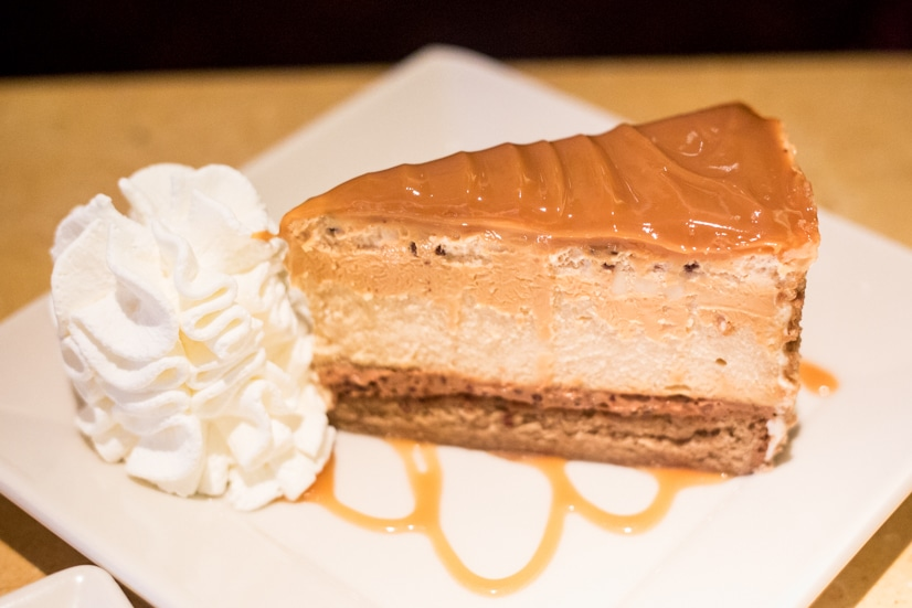 Salted Caramel Cheesecake - Whether you've loved The Cheesecake Factory restaurant your whole life or found them as a recent passion, here are five reasons to love The Cheesecake Factory Even More! If you thought their menu, food, recipes, and especially avocado egg rolls were good, just wait until you hear this!