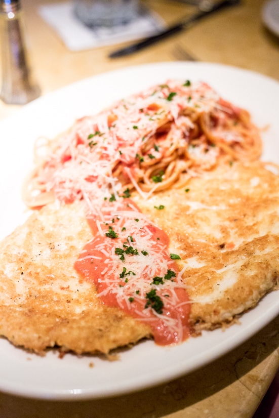 Crusted Chicken Romano - Whether you've loved The Cheesecake Factory restaurant your whole life or found them as a recent passion, here are five reasons to love The Cheesecake Factory Even More! If you thought their menu, food, recipes, and especially avocado egg rolls were good, just wait until you hear this!